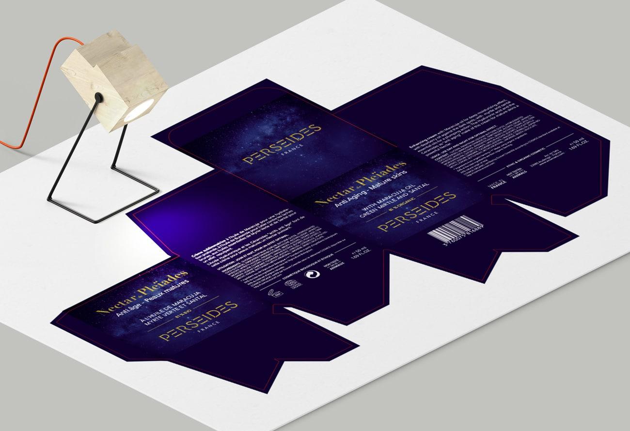 Packaging en cours de création