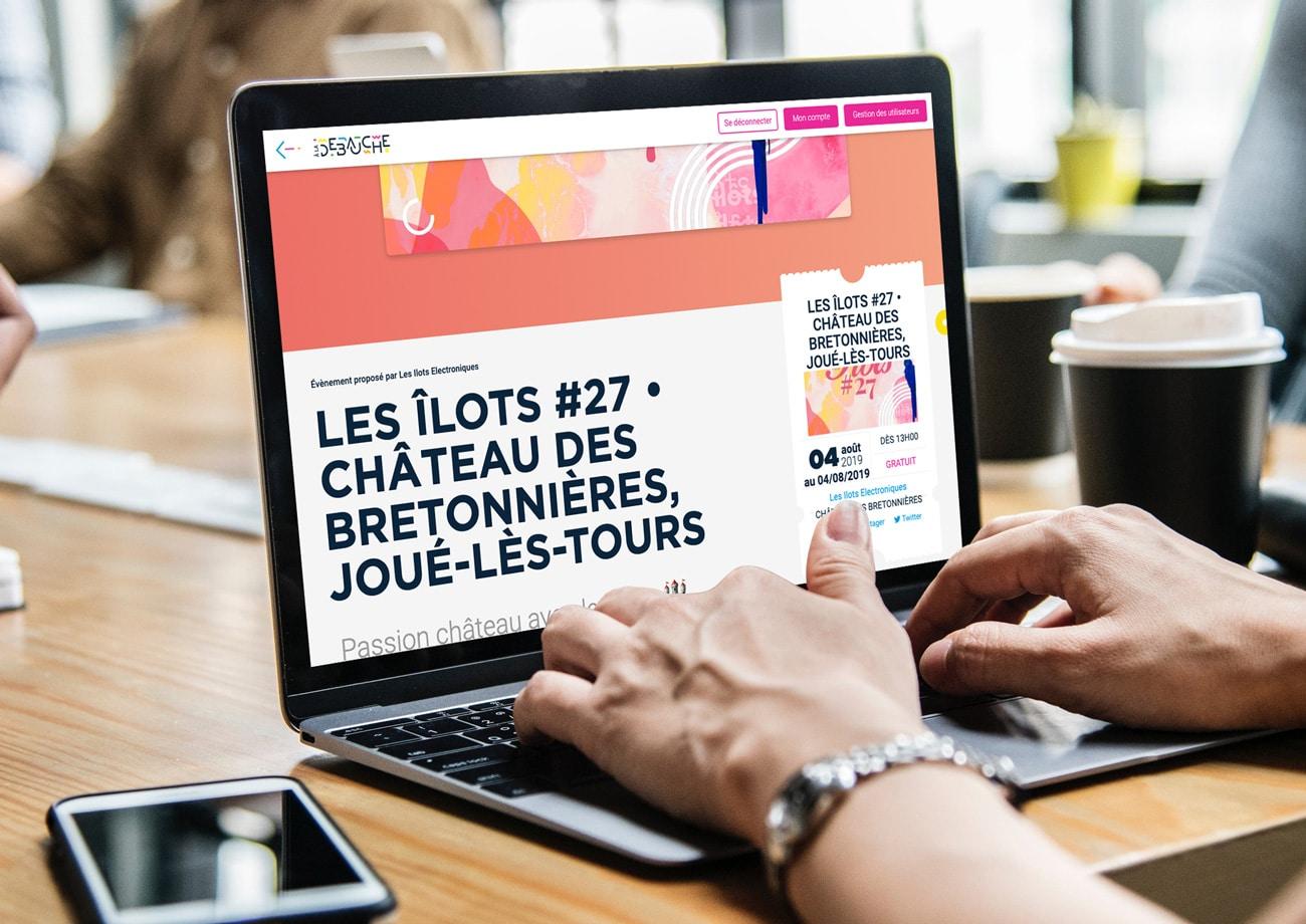 Création du site internet aladebauche.com, le site qui référence tous les évènements dans le 37